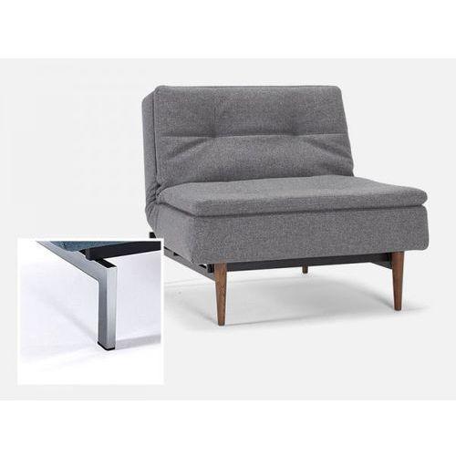 Fotel Dublexo szary 563 nogi chromowane  741051563-741011-0-2, marki INNOVATION iStyle do zakupu w sfmeble.pl