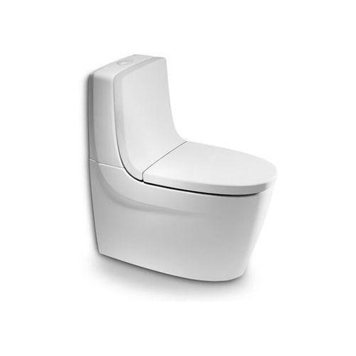 Miska stojąca do kompaktów WC Khroma odpływ podwójny Roca_DARMOWA-DOSTAWA_od_999_zł - sprawdź w wybranym sklepie