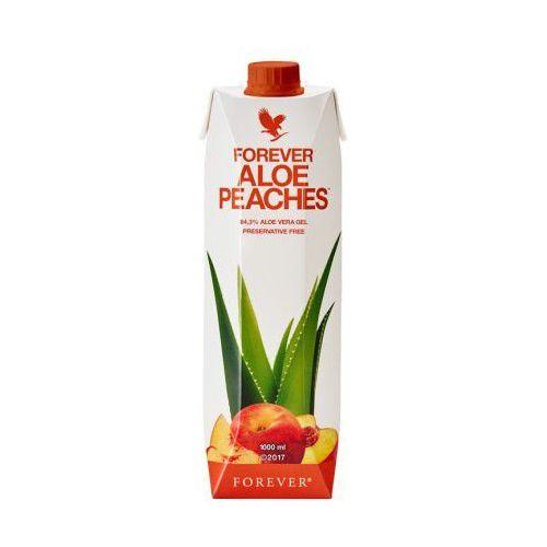 Forever living products Nektar z miąższem z liści aloesu o smaku brzoskwiniowym - forever aloe peaches