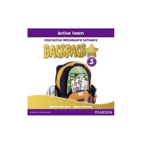 Backpack Gold 5 - Active Teach [Oprogramowanie Tablic Interaktywnych] (9781408243428)