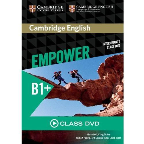 Cambridge university press Cambridge english empower intermediate class dvd (płyta dvd)