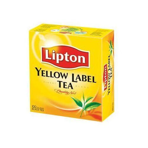 Herbata 100 torebek marki Lipton