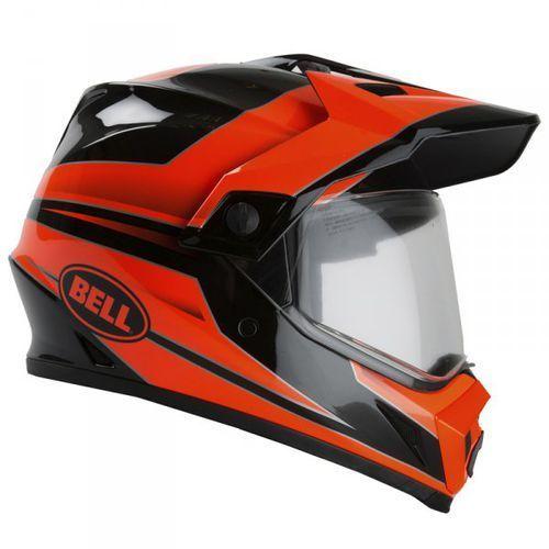 mx-9 adventure mips stryker flo orange kask motocross marki Bell