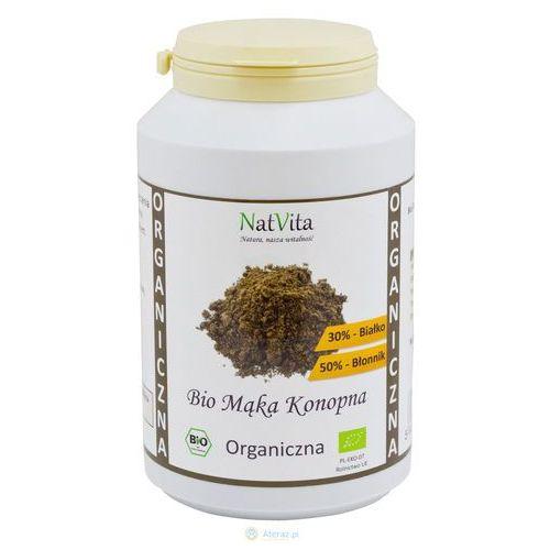Natvita Mąka konopna bio białko 30% 500g (5907377282365)