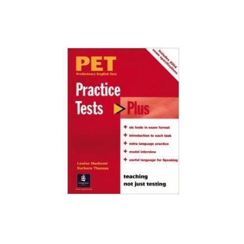 Practice Tests Plus PET. Podręcznik bez Klucza