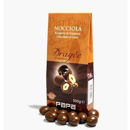 Papa classico orzechy laskowe w gorzkiej czekoladzie 100 g