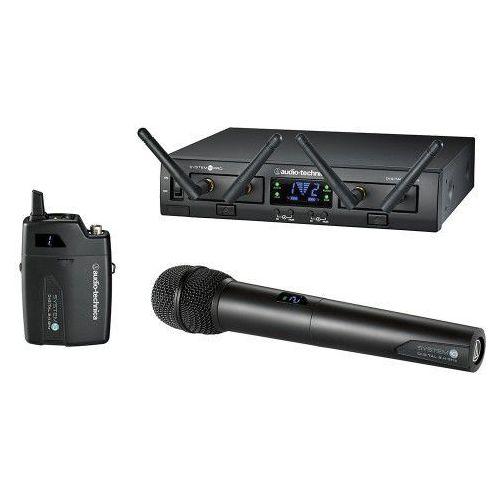 Audio technica atw-1312 system 10 pro mikrofon bezprzewodowy podwójny