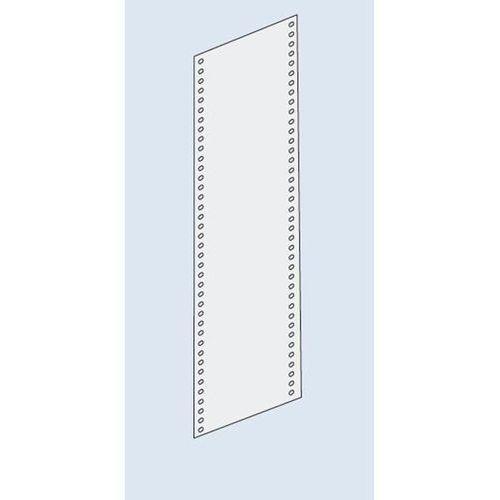 Osłona ścianki bocznej, pełna blacha, wys. 2000 mm, do głęb. 600 mm, ocynkowanie marki Eurokraft