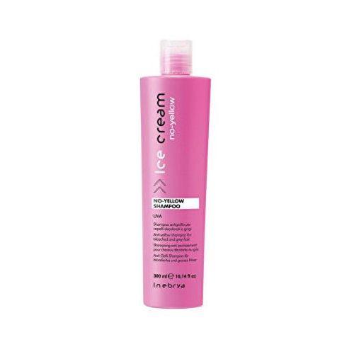 no-yellow szampon neutralizujący żółtawe odcienie (anti-yellow shampoo for bleached and grey hair ) 300 ml marki Inebrya