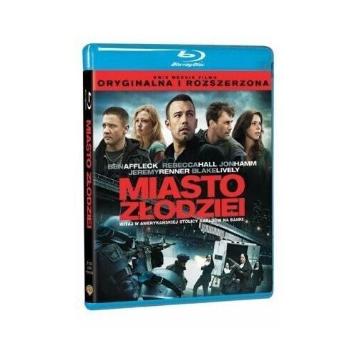 Ben affleck Miasto złodziei (bd) premium collection (płyta bluray) (7321996264256)