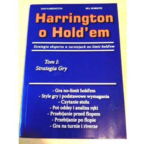 Książka Harrington o Holdem: Tom 1 Strategia gry