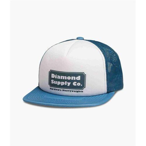 czapka z daszkiem DIAMOND - Hardware Trucker Hat W/ Rope Navy (NVY) rozmiar: OS, kolor niebieski