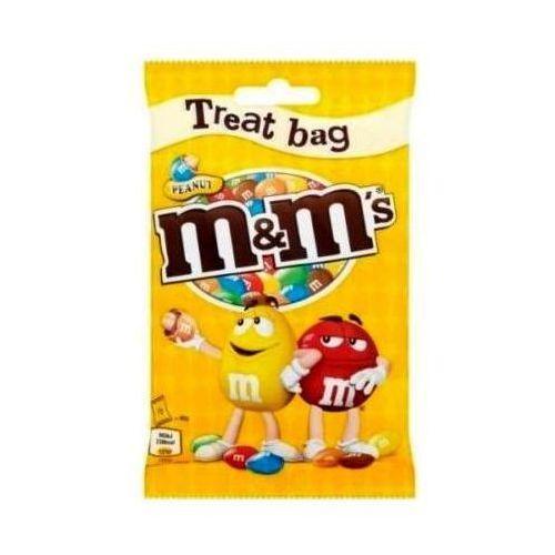 Mars M&m's peanut treat bag 82g(anglia) (5000159504393)