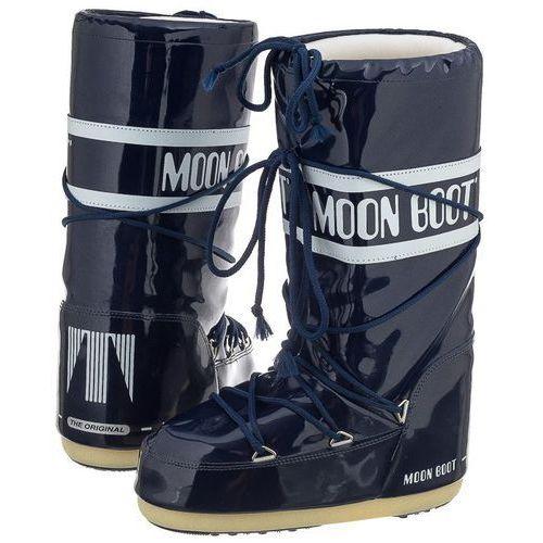 Śniegowce Moon Boot Vinil Navy Blue 14009700031 (MB1-e), 14009700031