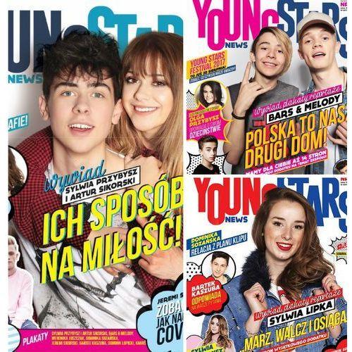 Zestaw Young Stars News (nr.1,2,3)