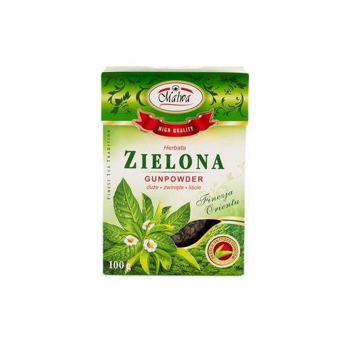 Malwa tea Malwa herbata zielona gunpowder 100 gram liść