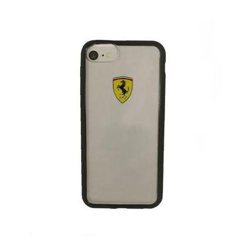 hardcase fehcrfp7bk iphone 7 (przezroczysty/czarny) marki Ferrari