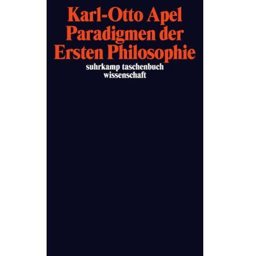 Paradigmen der Ersten Philosophie (9783518295854)