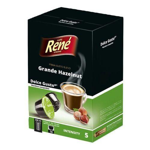 Rene Grande Hazelnut (kawa aromatyzowana orzechowa) kapsułki do Dolce Gusto – 16 kapsułek (5902480017088)