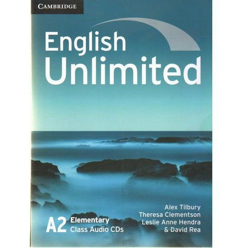 English Unlimited A2 Elementary Class Audio CDs, oprawa kartonowa