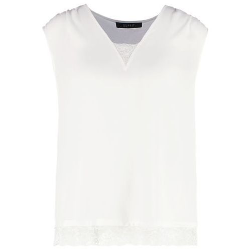Esprit Collection Tshirt z nadrukiem off white, kolor biały, od rozmiaru 34