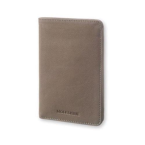 Moleskine Portfel passport wallet lineage taupe