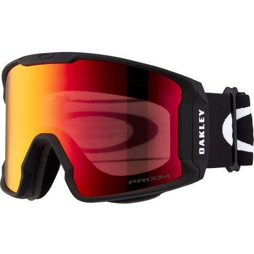 line miner gogle zimowe mężczyźni, matte black/w prizm torch iridium 2020 gogle narciarskie marki Oakley