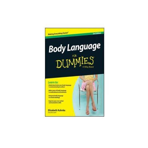 Body Language for Dummies 3e, Kuhnke, Elizabeth