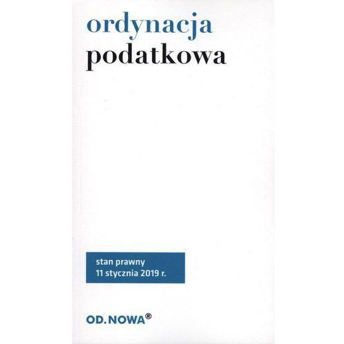 Ordynacja Podatkowa 2019, Od.Nowa