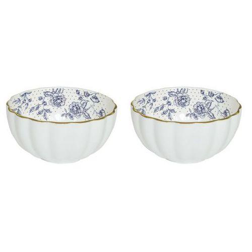 Nuova r2s Zestaw miseczek blue peonies ( w ozdobnym pudełku)