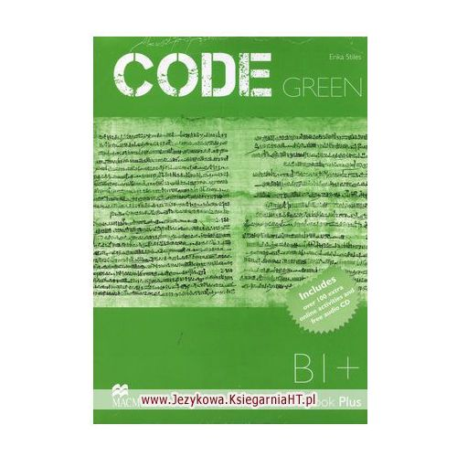 Code Green Workbook (zeszyt ćwiczeń) with MPO & CD Pack, Macmillan