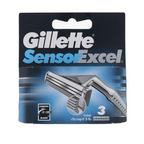 Gillette sensor excel wkład do maszynki 3 szt dla mężczyzn
