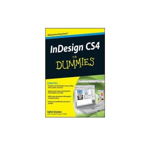 InDesign CS4 For Dummies, Gruman, Galen