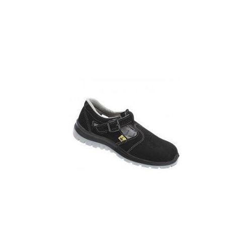 Sandały bezpieczne z metalowym podnoskiem Damskie PPO M651