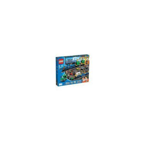 LEGO City Pociąg towarowy - produkt z kategorii- kolejki i tory dla dzieci