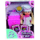 Artykuł Zabawka SIMBA Evi Piecze Ciasto + Odbiór w 650 punktach Stacji z paczką! z kategorii lalki