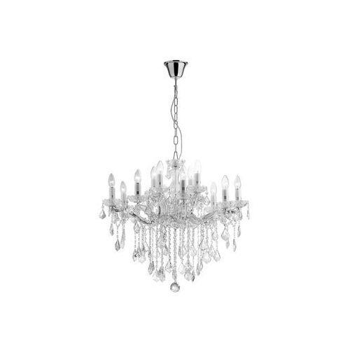 Ideal lux 35604 - żyrandol kryształowy florian sp12 cromo 12xe14/40w/230v (8021696035604)