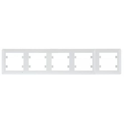 HAGER POLO lumina 2 Ramka 5-krotna pozioma, biały WL5250 (8694407001344)