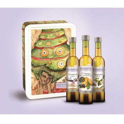 Zestaw prezentowy trzy oleje 3x100ml - BIO PLANETE, 3445020279031