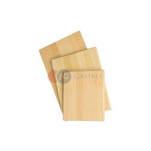 Stalgast Deska drewniana gładka 250x300 mm 342250