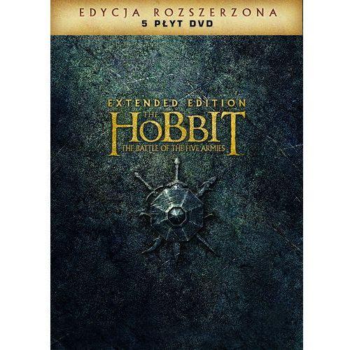 Galapagos Hobbit: bitwa pięciu armii, wydanie rozszerzone (5xdvd) - peter jackson. darmowa dostawa do kiosku ruchu od 24,99zł (7321909339026)