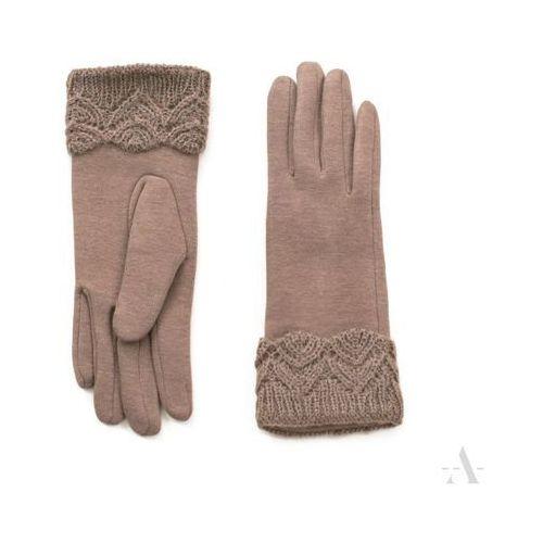 75e6dcab21dcce ... nadgarskiem - beżowy 37,12 zł gustowne rękawiczki żeńskie, wspaniałe  dla ceniących klasykę w wyglądzie.adekwatne będą ponadto dla pań o długich.