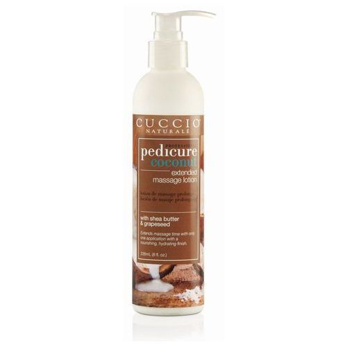 pedicure coconut | kokosowy balsam do masażu stóp 236ml marki Cuccio