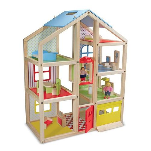 Domek dla lalek Słoneczna Willa 12462 Melissa and Doug (domek dla lalek) od wonder-toy.com