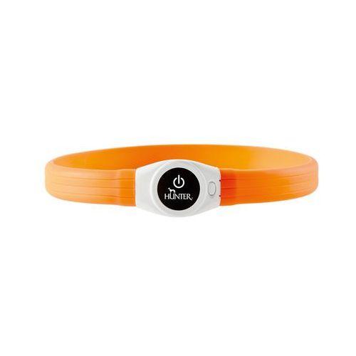 Obroża Yukon LED extra wide pomarańczowa (4016739664594)