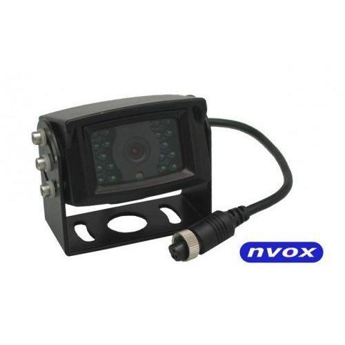NVOX GDB2095 Samochodowa kamera cofania 4PIN CCD2 SHARP w metalowej obudowie 12V 24V