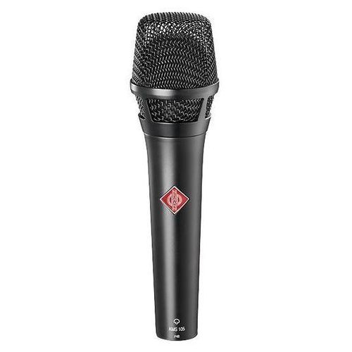 Neumann kms 105 mikrofon pojemnościowy, kolor czarny