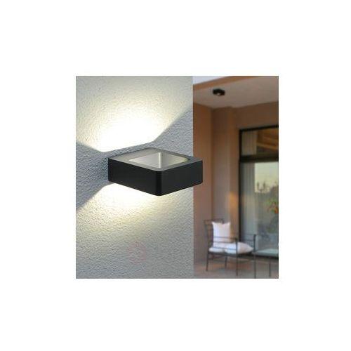 Efektowna zewnętrzna lampa ścienna led bernardo marki Lampenwelt