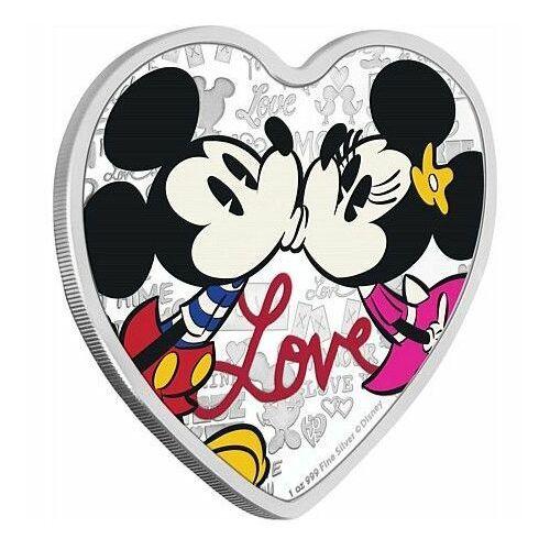 Srebrna moneta Disney: Miłość 2019