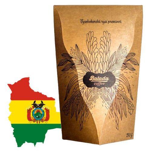 Balada coffee kawa ziarnista bolivia organic colonial 250g